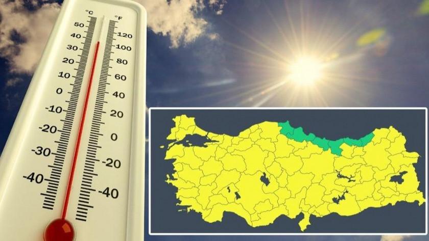 Meteoroloji / Hava durumu | Sarı uyarı ne demek? Ne anlama geliyor?