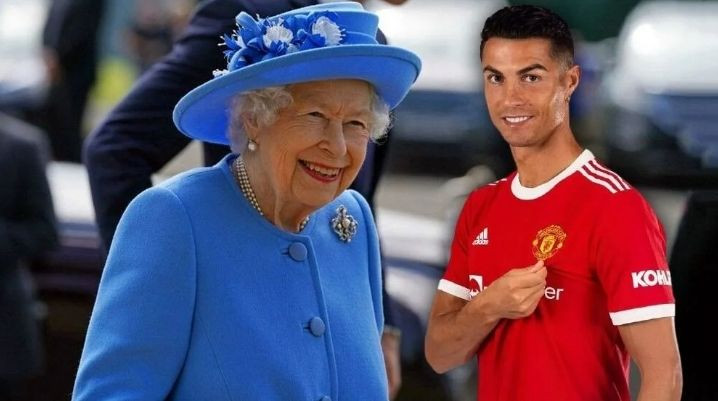 Tarihte bir ilk! Kraliçe istedi Ronaldo tarihe geçti - Sayfa 1