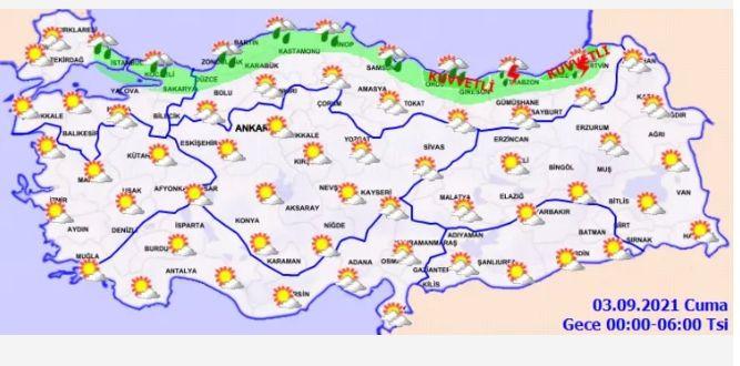 Bugün hava nasıl olacak? Meteoroloji'den son dakika sağanak uyarısı! - Sayfa 3