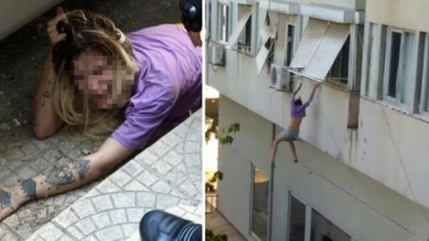 İranlılar tarafından kaçırıldığını iddia eden genç kız camdan atladı!