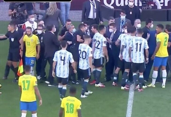 Brezilya-Arjantin maçında sınır dışı krizi! - Sayfa 1