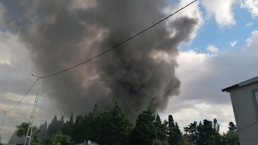 İstanbul Silivri'de fabrikada yangını!