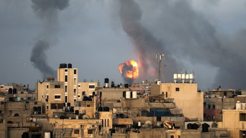 İsrail'den, Gazze'ye hava saldırısı!