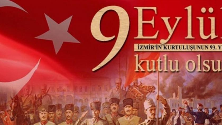 9 Eylül İzmir'in kurtuluşu resimli kutlama mesajları