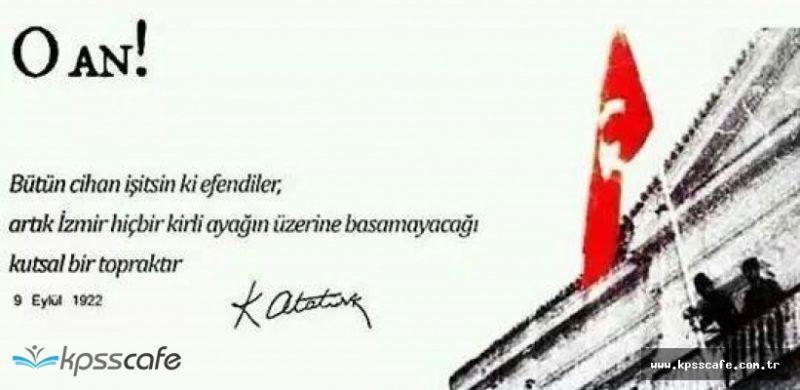 9 Eylül İzmir'in kurtuluşu resimli kutlama mesajları - Sayfa 1