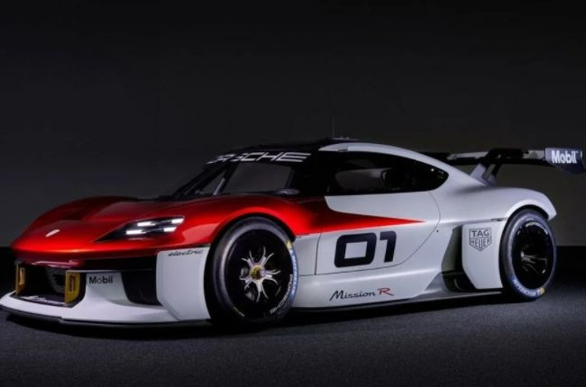 Porsche Mission R Konsepti resmen tanıtıldı! İnanılmaz... - Sayfa 1