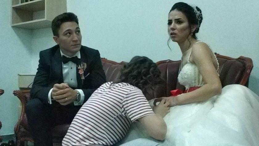 Düğün günü en acı günü oldu!