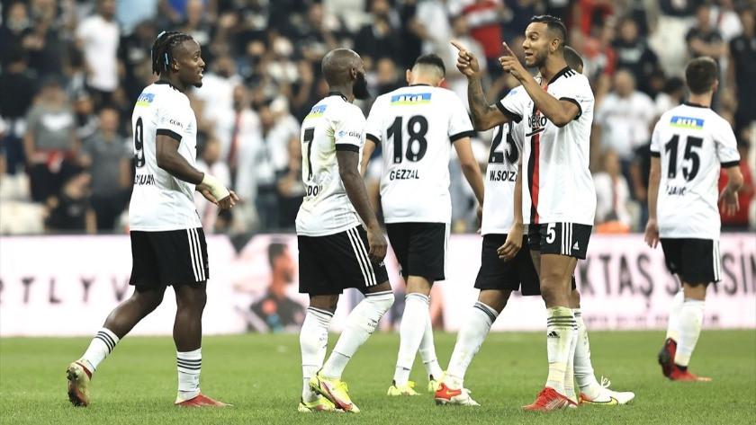 Beşiktaş, sahasında Yeni Malatyaspor'u 3-0 mağlup etti