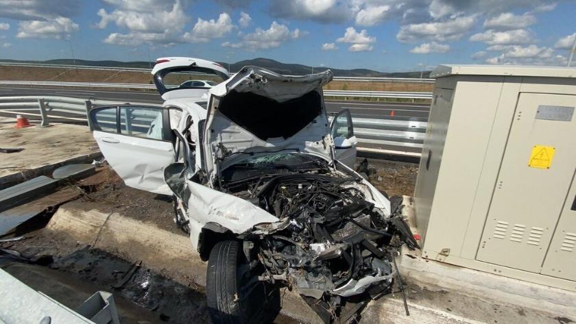 İki kişinin hayatını kaybettiği feci kazada kahreden detay