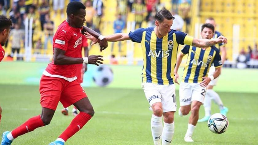 Fenerbahçe, Sivasspor engeline takıldı