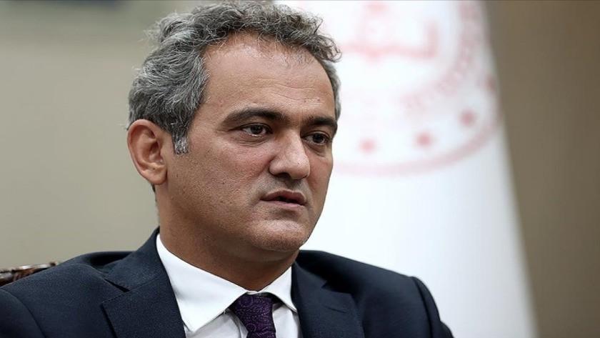Milli Eğitim Bakanı Mahmut Özer'den okullarda PCR testi açıklaması