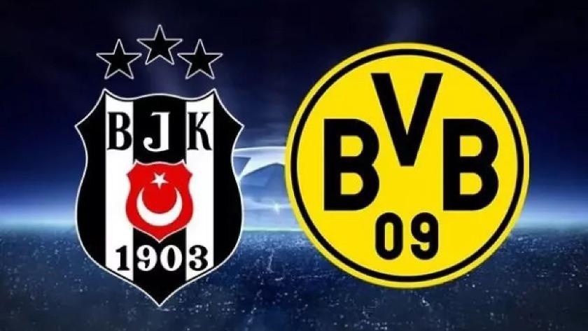 İşte Beşiktaş'ın Borussia Dortmund kadrosu! Kadroda 3 eksik...