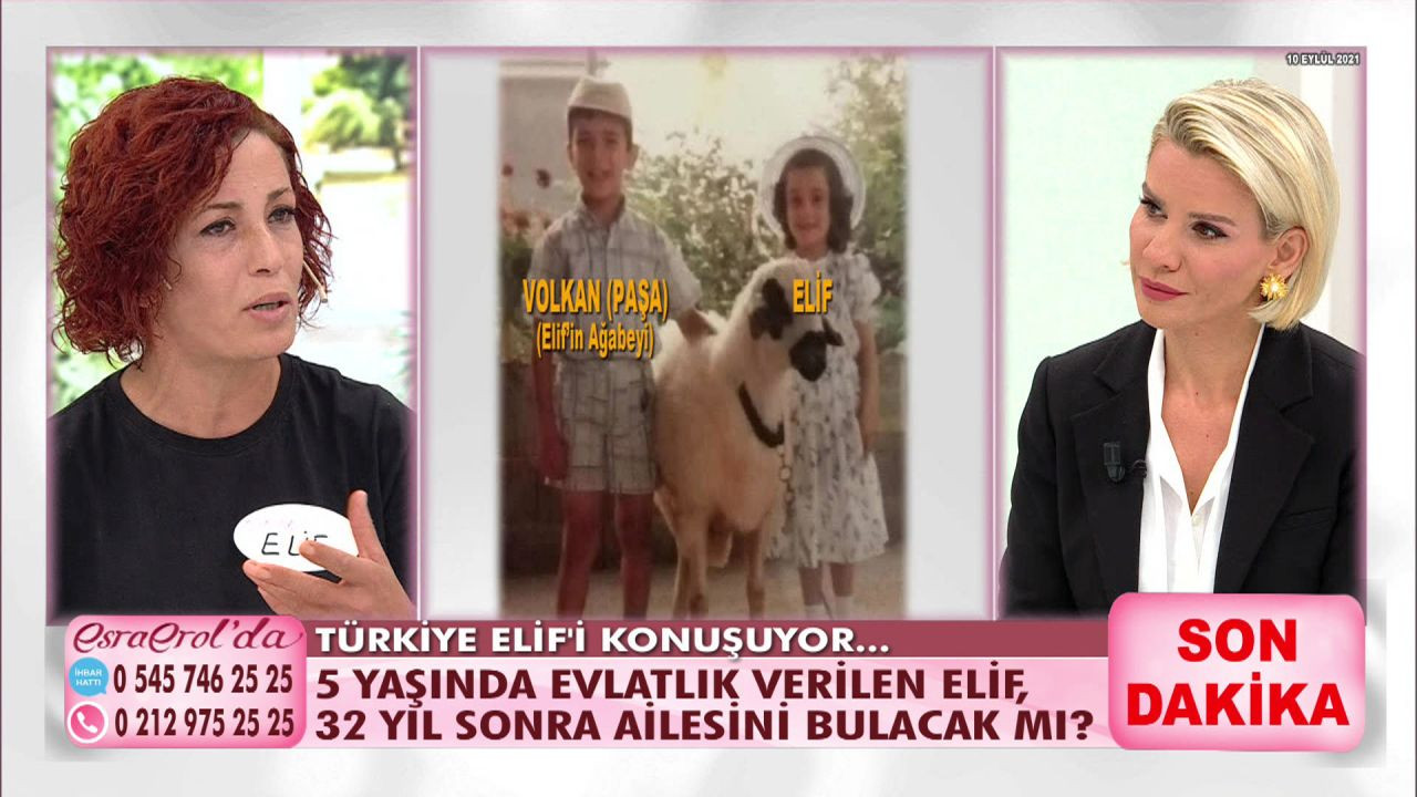 5 yaşında evlatlık verilen Elif 32 yıl sonra ailesini buldu! - Sayfa 1
