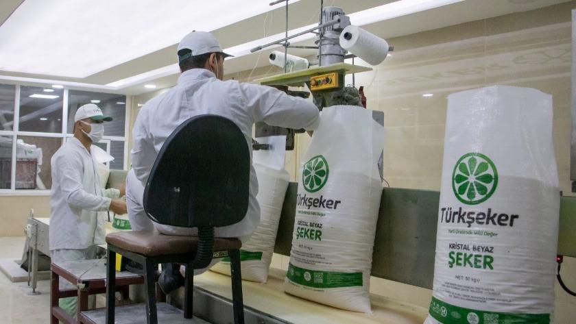 Türkşeker, dönemin ilk şekerinin üretildiğini duyurdu!
