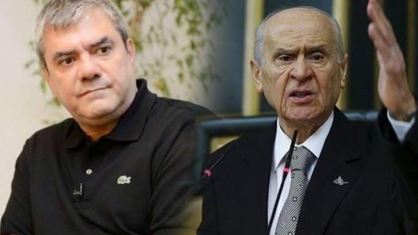 Yılmaz Özdil'den, MHP lideri Devlet Bahçeli'ye teşekkür