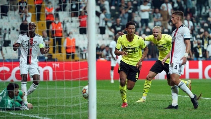 Beşiktaş - Dortmund: 1-2  Maç sonu Özeti