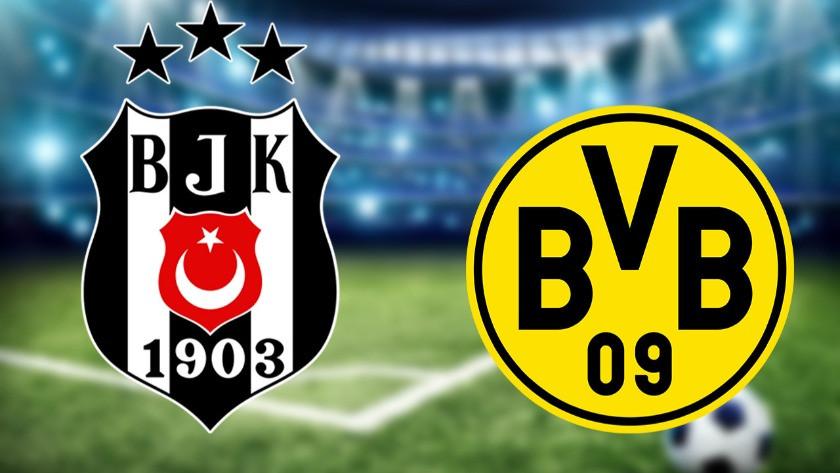 Geri sayım başladı! İşte Beşiktaş-Dortmund maçının ilk 11'leri