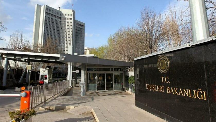 Dışişleri Bakanlığı'ndan  terör saldırısına kınama