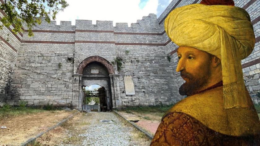 Fatih Sultan Mehmet'in ordusunun İstanbul'a girdiği kapı nasıl durumda