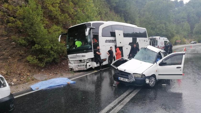 Manavgat'ta feci kaza: 2 ölü, 2 yaralı