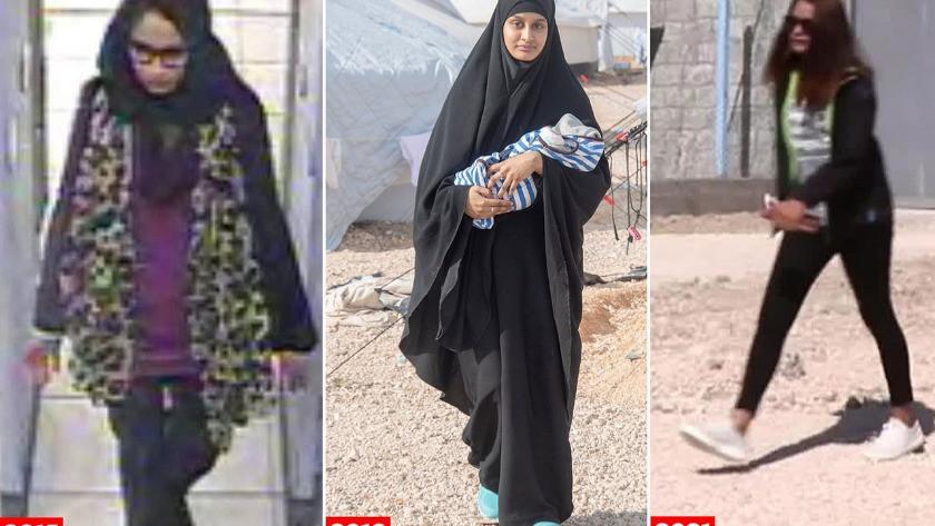 'IŞİD Gelini' olan İngiliz Şamima Begüm'den şaşırtan itiraflar!