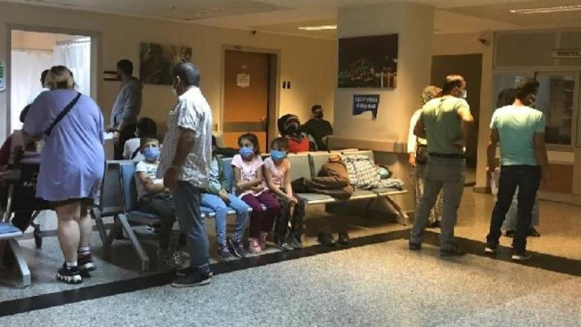 Sünnet düğününde 52'si çocuk 110 kişi hastanelik oldu!