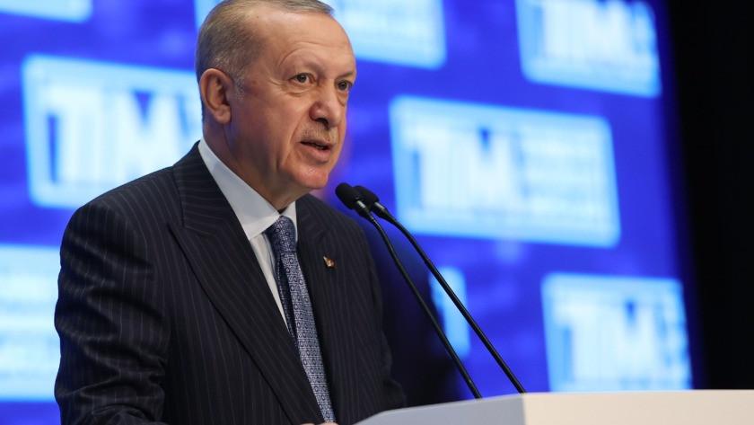 TİM Genel Kurulu'nda Cumhurbaşkanı Erdoğan'dan ihracatçılara müjde