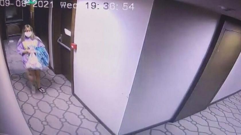 Otel odasında yaşamını yitiren Seda'nin son görüntüleri ortaya çıktı!
