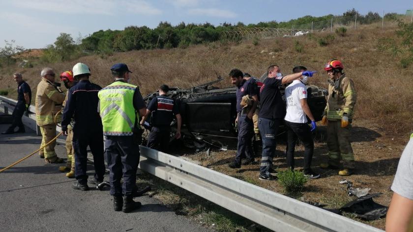Pendik'te feci kaza: Anne ve baba hayatını kaybetti, 2 çocuk yaralandı