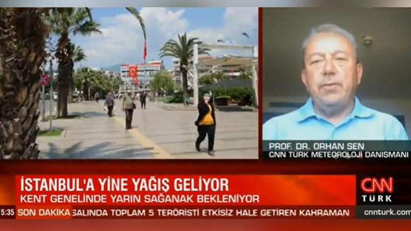Prof. Dr. Orhan Şen açıkladı! Yağışlar tüm yurdu etkisi altına alacak!