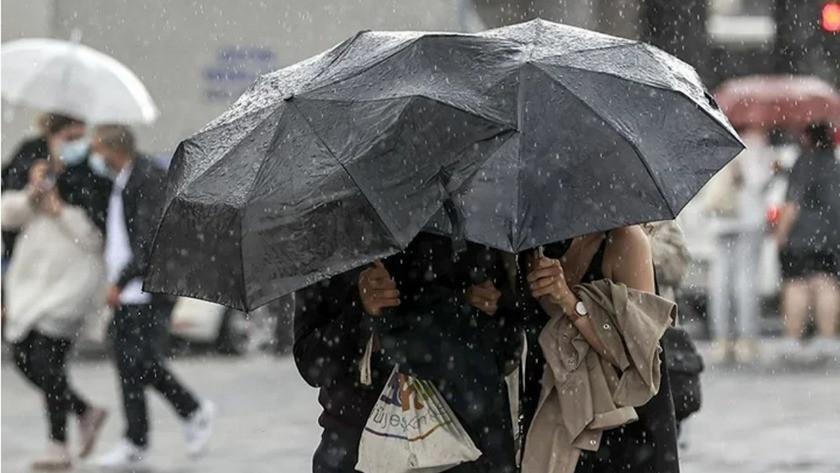 Meteoroloji il il uyardı! Çok kuvvetli yağış geliyor