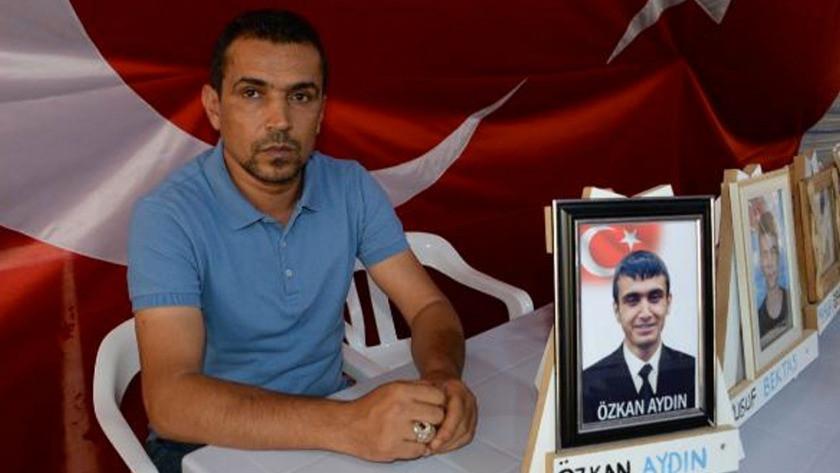 Diyarbakır'da evlat nöbetindeki baba'dan feryat yakan sözler!