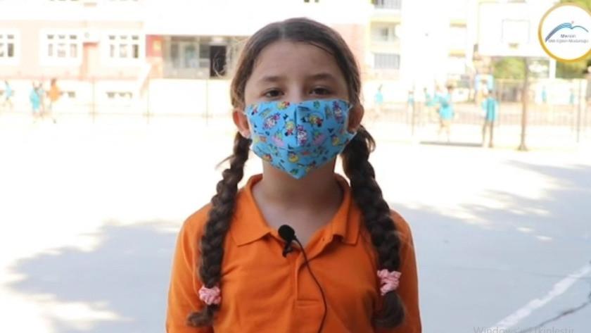 Minik öğrencilerden klipli 'aşı' mesajı!