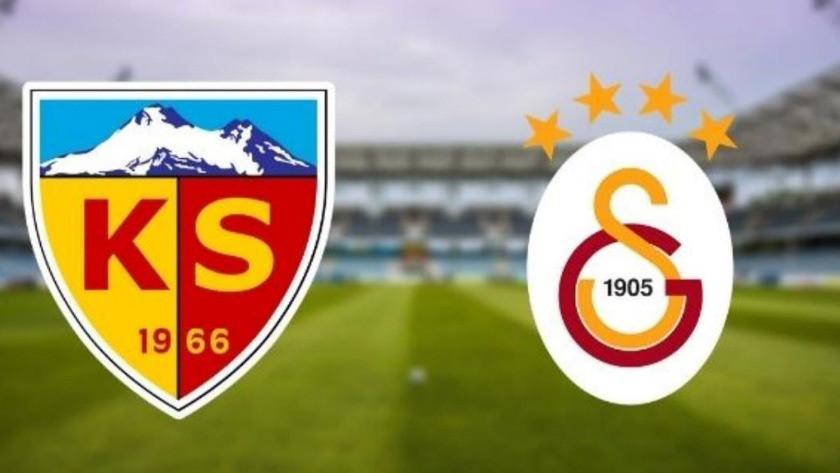 Kayserispor-Galatasaray maçı ne zaman, saat kaçta?