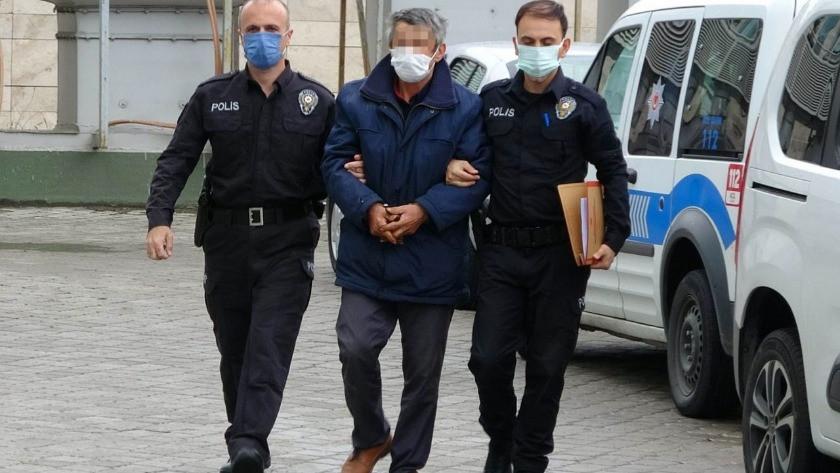 Cami'de hırsızlık yapan şahsı gözaltına alındı