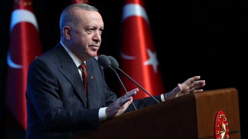 Cumhurbaşkanı Erdoğan dünyaya ilan etti!