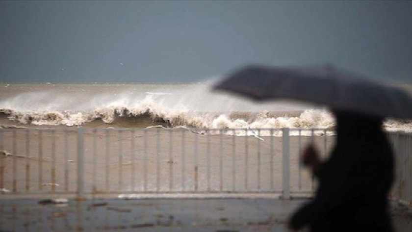 Meteorolojiden rüzgar, yağış ve zirai don uyarısı