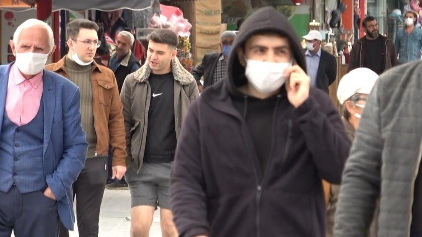 Korona virüs vakaları arttı, maske takan azaldı