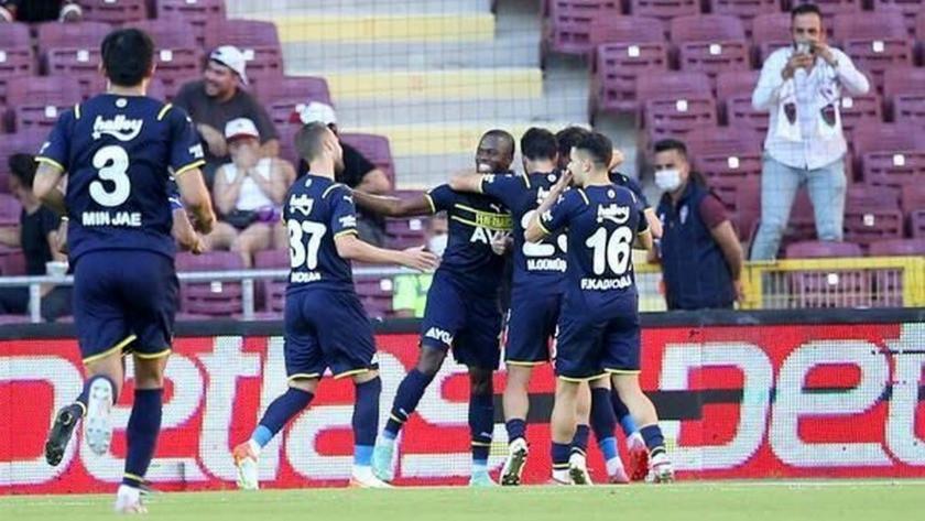 Hatayspor - Fenerbahçe maç sonucu: 1-2