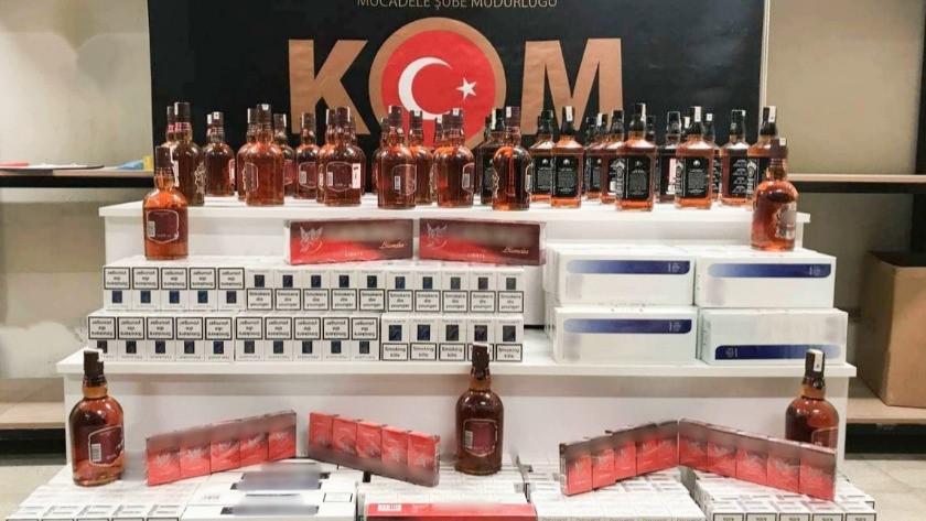Eskişehir'de narkotikten sahte içki ve narkotik operasyonu!