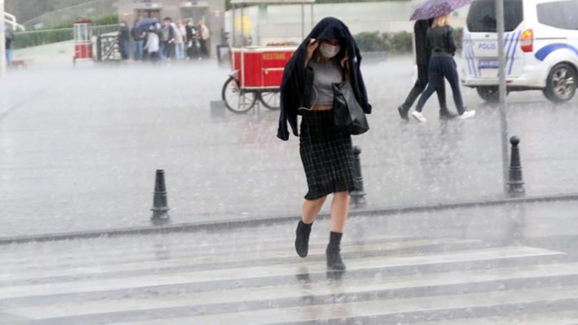 İstanbul'un da aralarında olduğu onlarca ilde yağmur bekleniyor