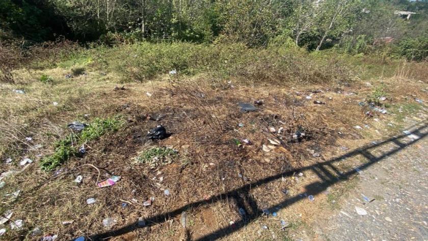 Kağıthane'de yeşil alanı yakan şahıs, kaza yapınca yakalandı