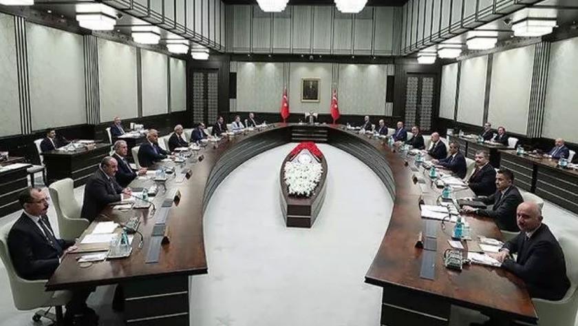 Son dakika: Kabine Toplantısı başladı!