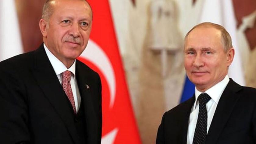 Putin'den Cumhurbaşkanı Erdoğan'a özel hamle!