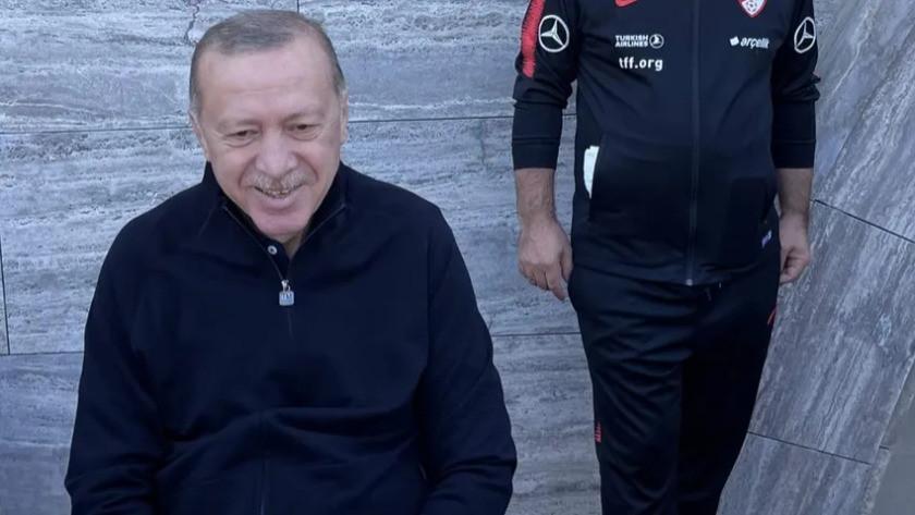 Cumhurbaşkanı Erdoğan'dan sabah sporu paylaşımı