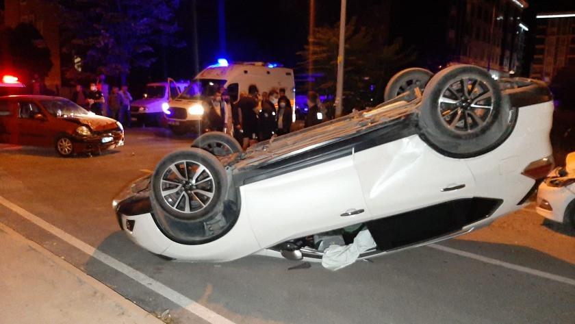 Edirne'de cip ile otomobil çarpıştı: 4 yaralı