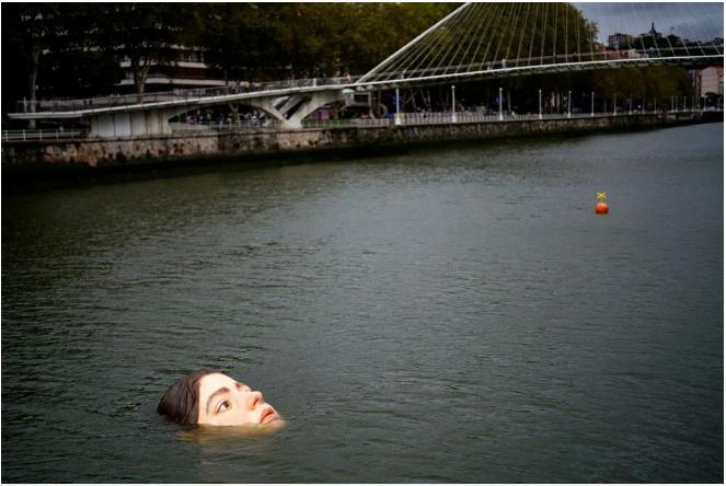 Nehrin ortasındaki genç kız vatandaşları fena korkuttu! Görenler şaştı kaldı... - Sayfa 2