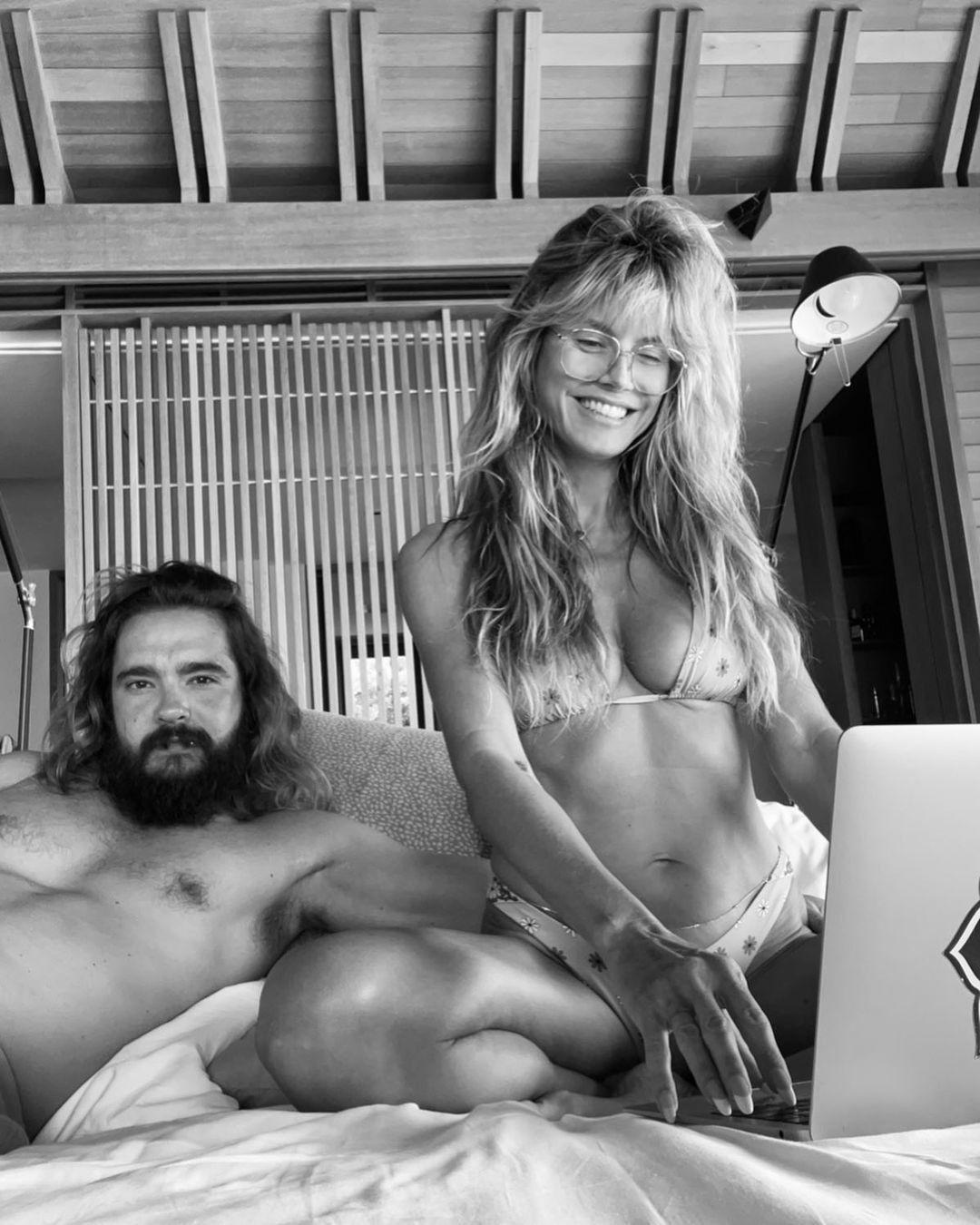 'Yatakta çılgınım' diyen ünlü model, bikinili pozuyla nefes kesti - Sayfa 1