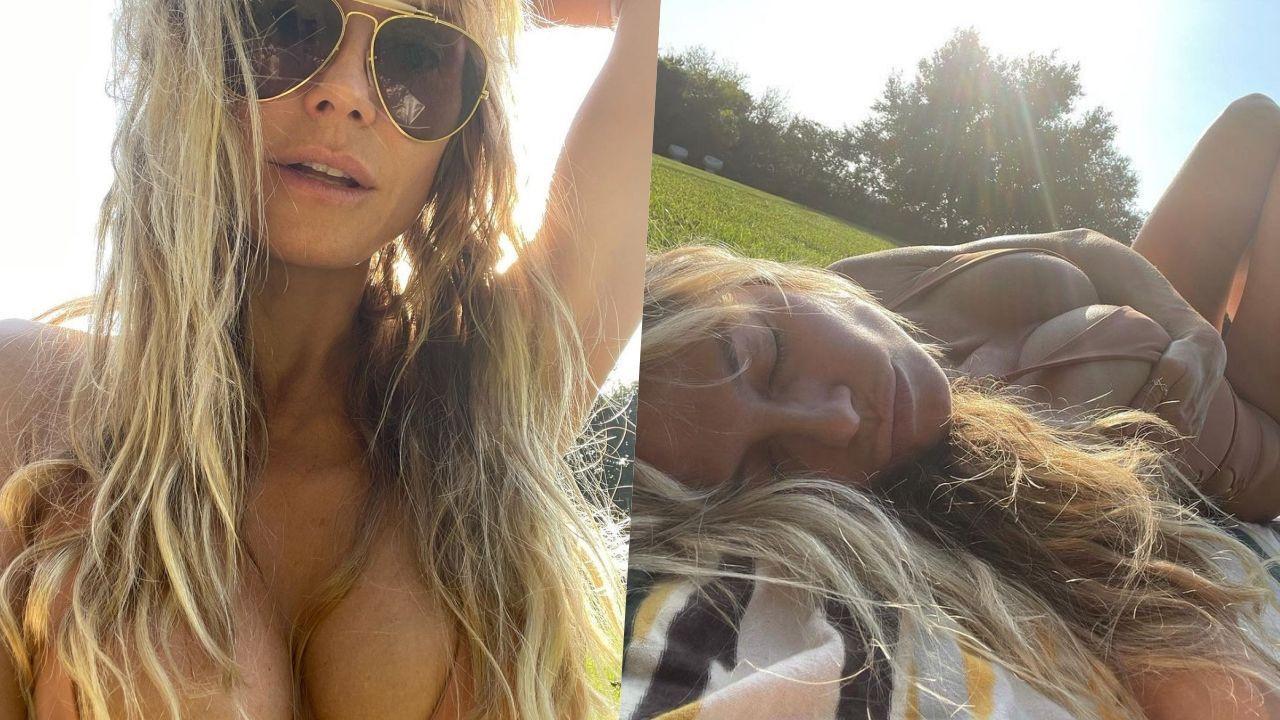 'Yatakta çılgınım' diyen ünlü model, bikinili pozuyla nefes kesti - Sayfa 2