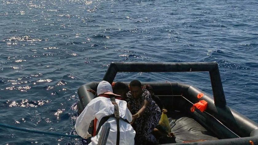 Marmaris'te 16 göçmen kurtarıldı